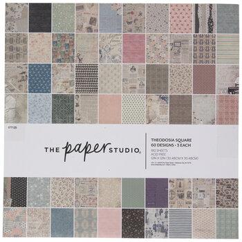 "Theodosia Square Paper Pack - 12"" x 12"""