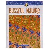 Blissful Nature Coloring Book