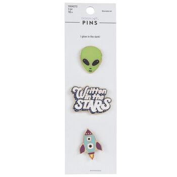Space Enamel Pins