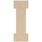 """Wood Letter I - 5"""""""