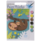 Sloths Paint By Number Kit