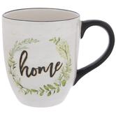 Home Wreath Mug