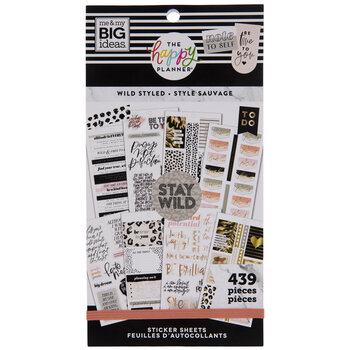 Wild Styled Happy Planner Stickers