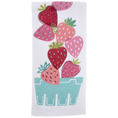 Strawberry Toss Kitchen Towel