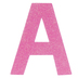 Glitter Wood Letter A - 4