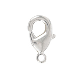 Sterling Silver Plated Classic Lobster Clasps - 9.5mm