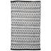 Black & White Diamond Chindi Rug - 27