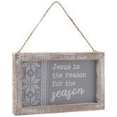 Reason For The Season Ornament