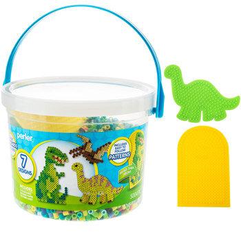 Dinosaur Perler Bead Bucket