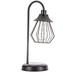 Black Wire Metal Desk Lamp