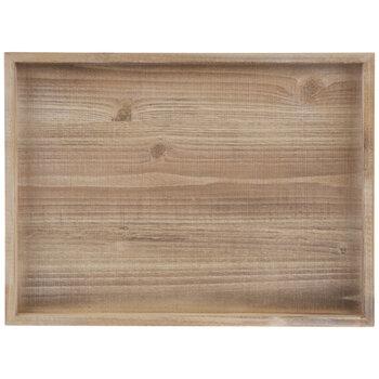 Rectangle Framed Wood Wall Decor