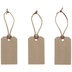 Thankful, Grateful & Blessed Faux Leather Tags