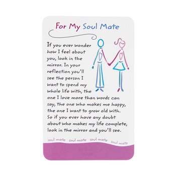 For My Soulmate Wallet Card
