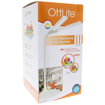 OttLite Dual Head Sewing LED Desk Lamp
