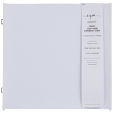 "Strap Hinge Album Refill Pages - 12"" x 12"""