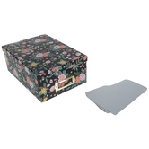Floral Print Photo Box