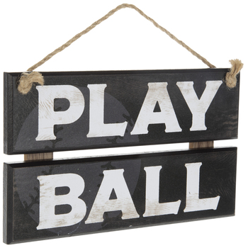 Play Ball Wood Wall Decor