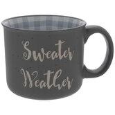 Sweater Weather Buffalo Check Mug
