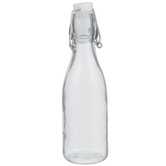 Round Glass Bottle - 8 Ounce