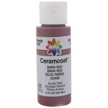 Barn Red Ceramcoat Acrylic Paint
