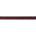 Red & Black Buffalo Check & Pom Pom Ribbon - 7/8