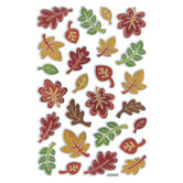Fall Leaves Foiled Stickers