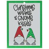Gnome Kisses Ornament