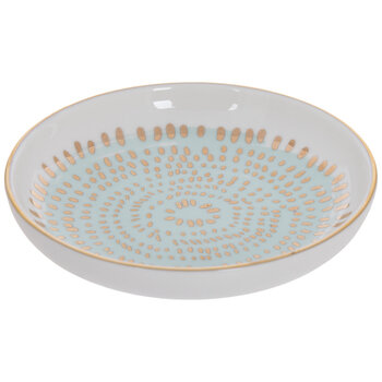 Mint & Gold Speckled Jewelry Dish