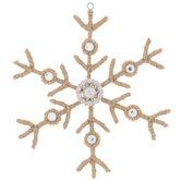 Jute Snowflake Ornament