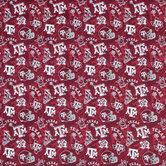 Texas A&M Allover Collegiate Cotton Fabric