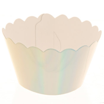 Holographic Baking Cup Wraps