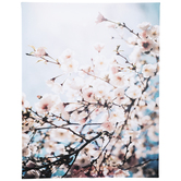 Pink Flowers Canvas Wall Decor