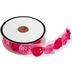 Pink Two-Tone Rose Trim - 3/4