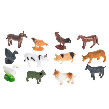 Mini Farm Animals Hobby Lobby 1716331, Farm Animal Figurines