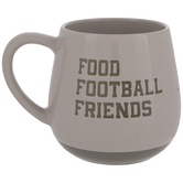 Food Football Friends Mug