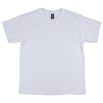 White Tri-Blend Youth T-Shirt - Large