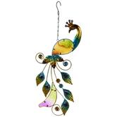 Peacock Metal Hanging Decor