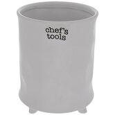 Chef's Tools Utensil Crock