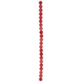 Pink Dyed Rhodonite Round Bead Strand