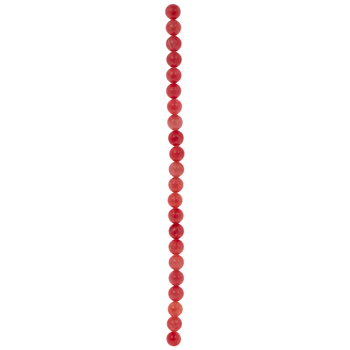 Pink Dyed Rhodonite Round Bead Strand