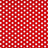 Red & White Polka Dot Gift Wrap