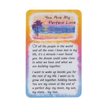 You Are My Perfect Love Wallet Card