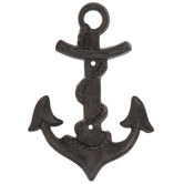 Anchor Double Metal Wall Hook