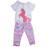 Glitter Unicorn Doll Outfit