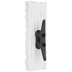 White Boat Cleat Metal Wall Hook