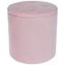 Pink Round Ottoman - Large