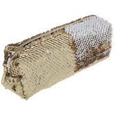 Gold Flip Sequin Pouch