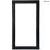 Matte Black Wood Open Frame - 12