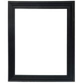 "Matte Black Wood Open Frame - 11"" x 14"""