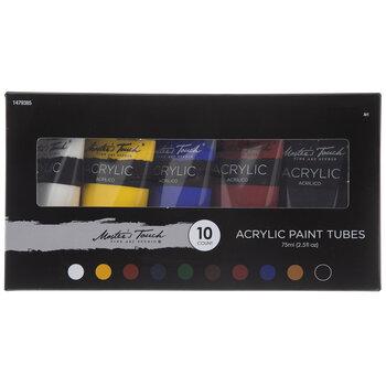 Acrylic Paint - 10 Piece Set